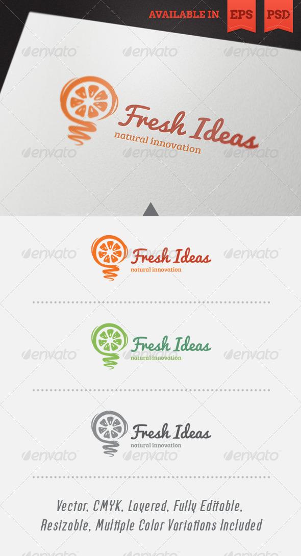 GraphicRiver Fresh Ideas Logo Template 4546221