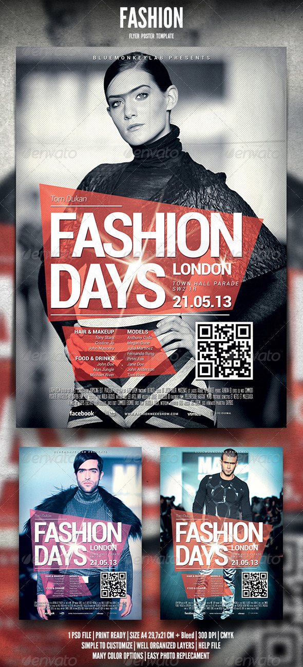 GraphicRiver Fashion Flyer Poster 2 4546456