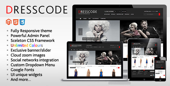Dresscode - Responsive Magento Theme Download