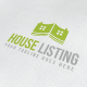 House Listing Logo - GraphicRiver Item for Sale