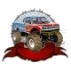 Cartoon Monster Truck - GraphicRiver Item for Sale