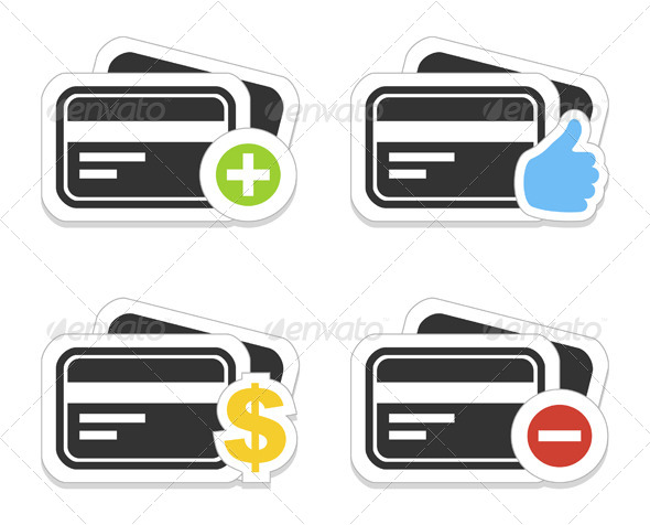 GraphicRiver Icon a Credit Card 4548200