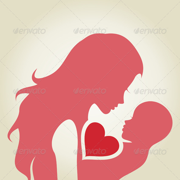 GraphicRiver Mum and Baby 4548294