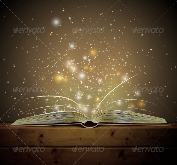 GraphicRiver Magic Book 4548403