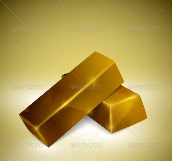 GraphicRiver Gold Bars 4548419