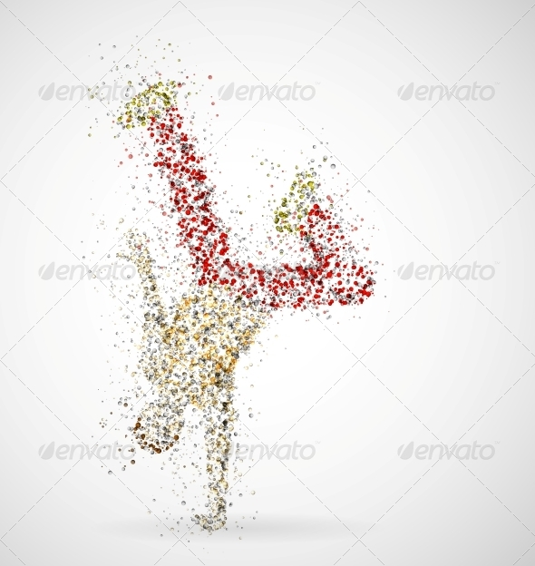 GraphicRiver Dancing Male 4548423