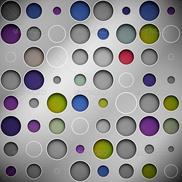 GraphicRiver Background with Circles 4548444
