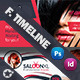 Beauty Saloon Timeline Template - GraphicRiver Item for Sale