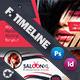 Beauty Saloon Timeline Template