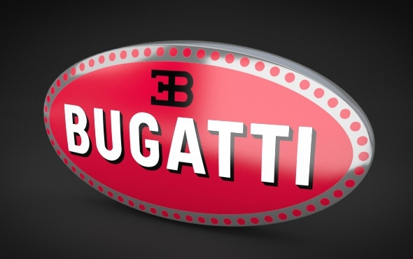 Bugatti Logo - 3DOcean Item for Sale