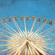 Ferris wheel with blue sky, photo in old image style - PhotoDune Item for Sale