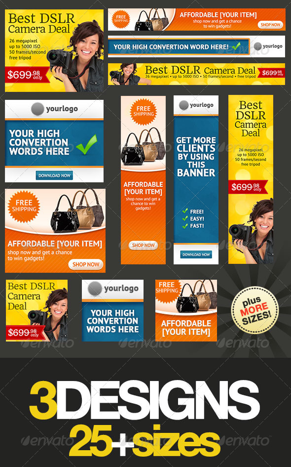 GraphicRiver Banner Design Templates Pack 2.0 4549384