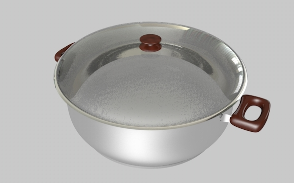 3DOcean Saucepan Cooker Stewpot Animated and Render Ready 4549520