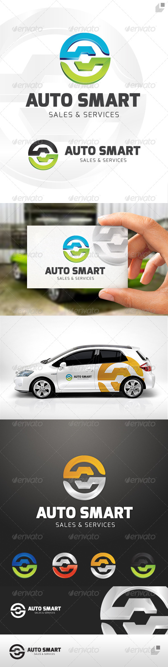 GraphicRiver Auto Smart Logo 4549619