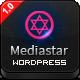Mediastar - Creative WordPress Portfolio Theme
