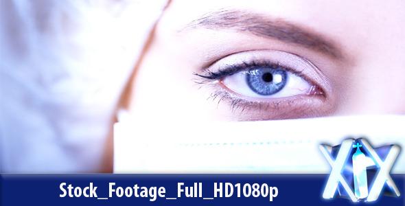Doctor Blinking Eye