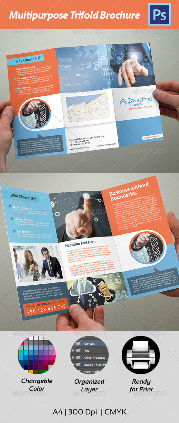GraphicRiver Trifold Brochure 4550679