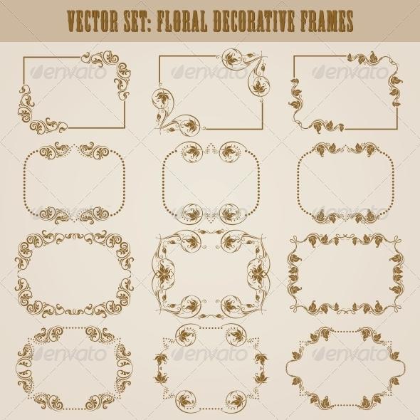 GraphicRiver Decorative Frames 4551215