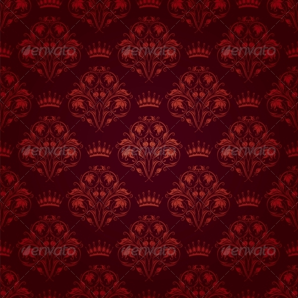 GraphicRiver Damask Seamless Floral Pattern 4551222