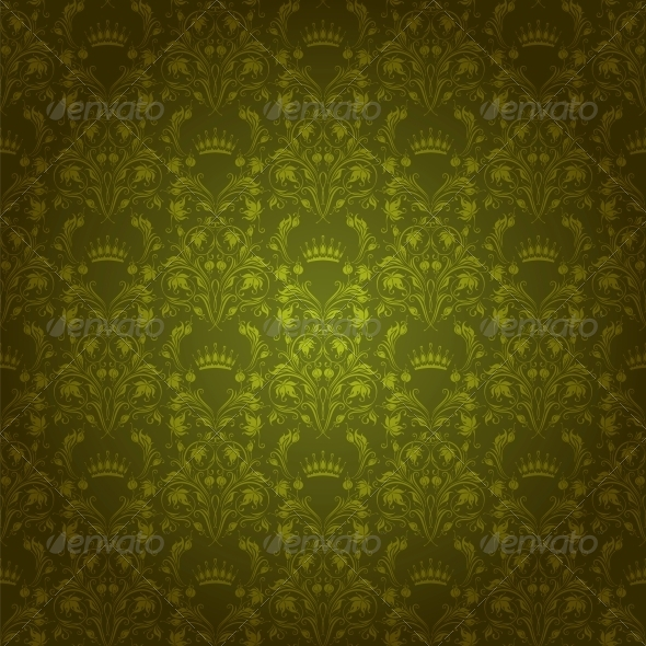 GraphicRiver Damask Seamless Floral Pattern 4551229