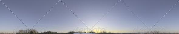 3DOcean Skydome HDRI VI Clear Winter Sky 4551430