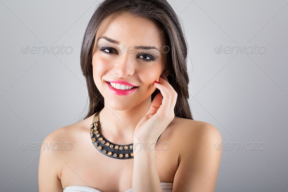 Glamorous summer look - Stock Photo - Images