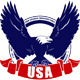 USA Eagle Badge - GraphicRiver Item for Sale