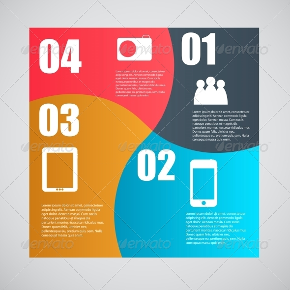 GraphicRiver Infographic Template Illustration 4551604