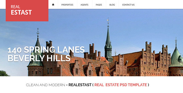 ThemeForest RealEstast Real Estate PSD Template 4551746