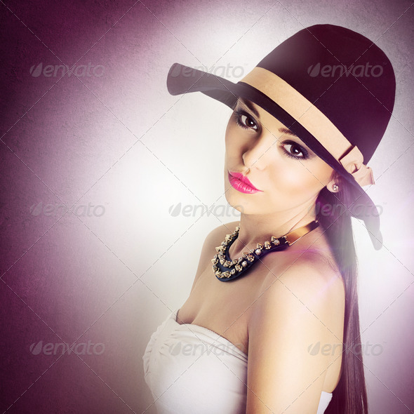 Sexy summer look - Stock Photo - Images