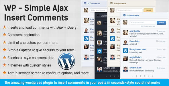 CodeCanyon Simple Ajax Insert Comments WordPress Plugin 4542951