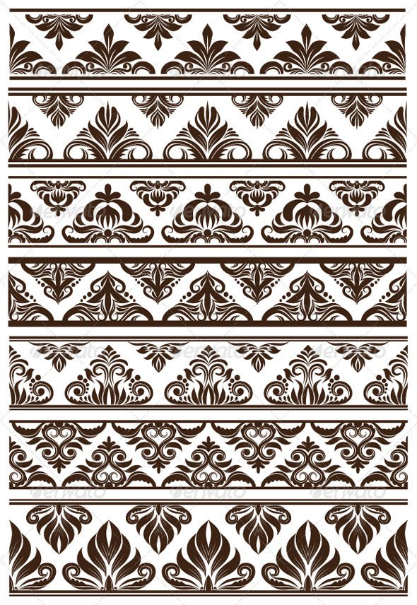 GraphicRiver Frame Decorative Vector Set 4552272