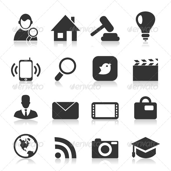 GraphicRiver Icon Set 4553439