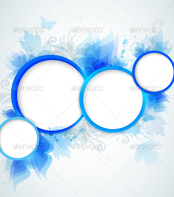 GraphicRiver Blue Abstraction 4553579