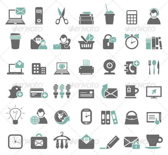 GraphicRiver Office Icons 7 4553964