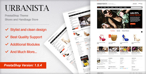 EggThemes Urbanista - Fashion Theme