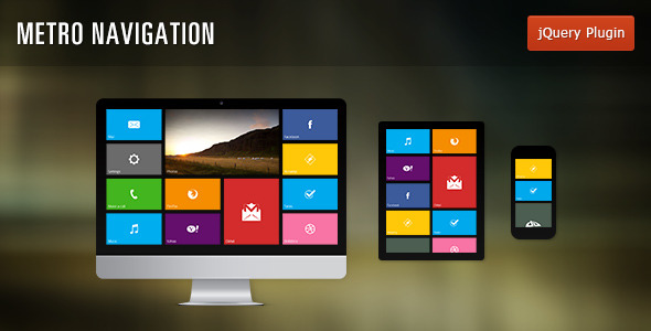 Metro Flexible Navigation - CodeCanyon Item for Sale