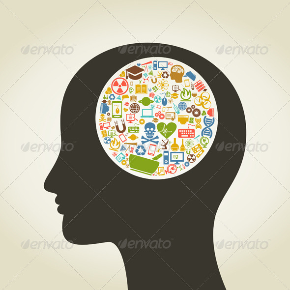 Science Head 8 - People Characters