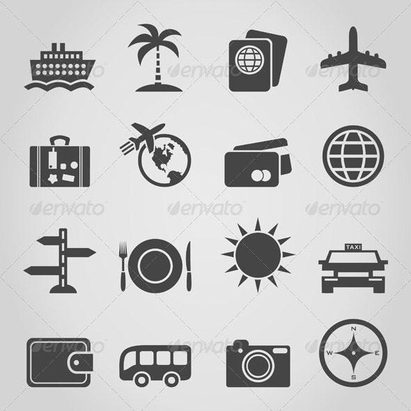 GraphicRiver Travel an Icon 4554742