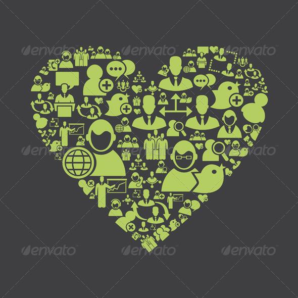 User Heart - Valentines Seasons/Holidays