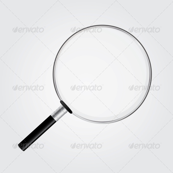 GraphicRiver Magnifying Glass Vector Illustration 4554871