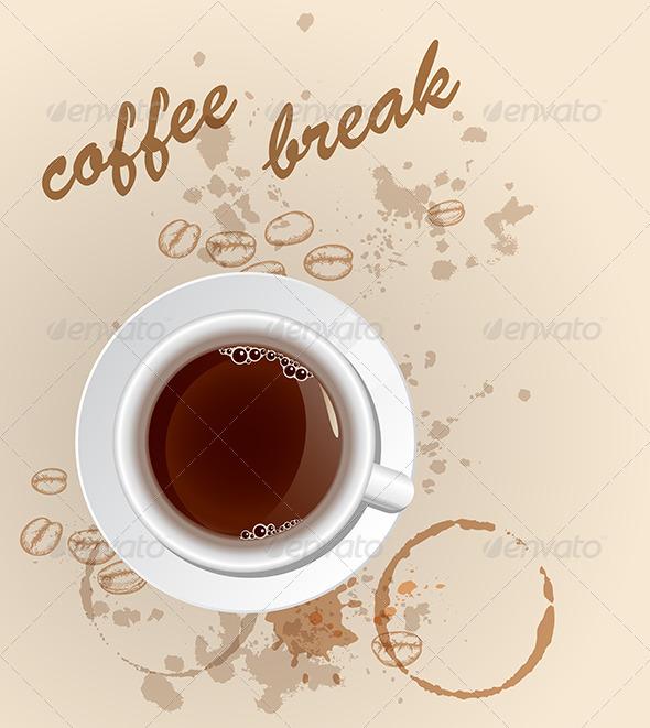GraphicRiver Coffee Background 4554903