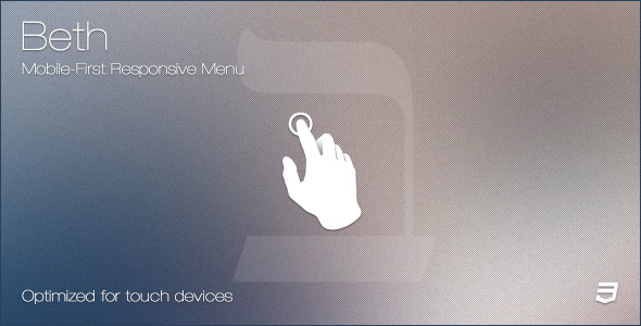 Beth - Mobile-First Responsive Menu