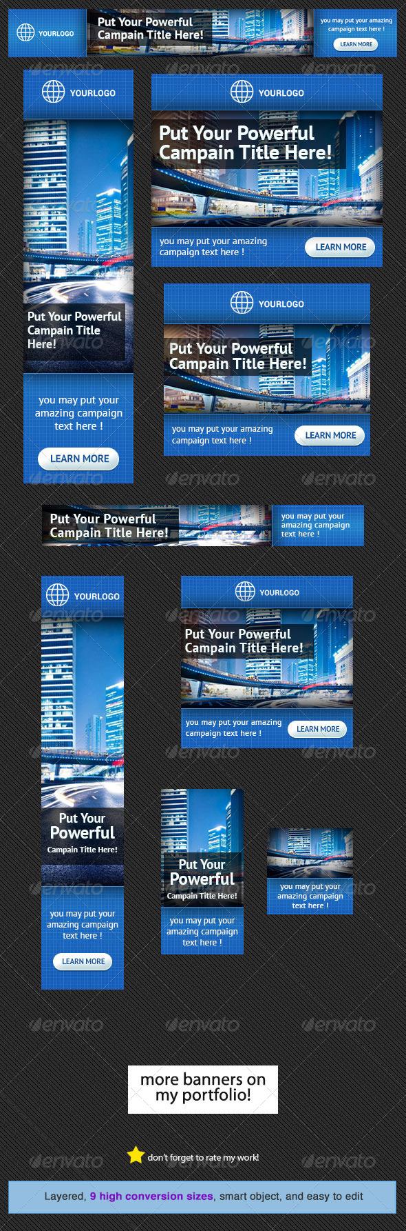 GraphicRiver Corporate Web Banner Design Template 12 4555547