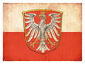 Grunge flag of Frankfurt (Hesse, Germany) - PhotoDune Item for Sale
