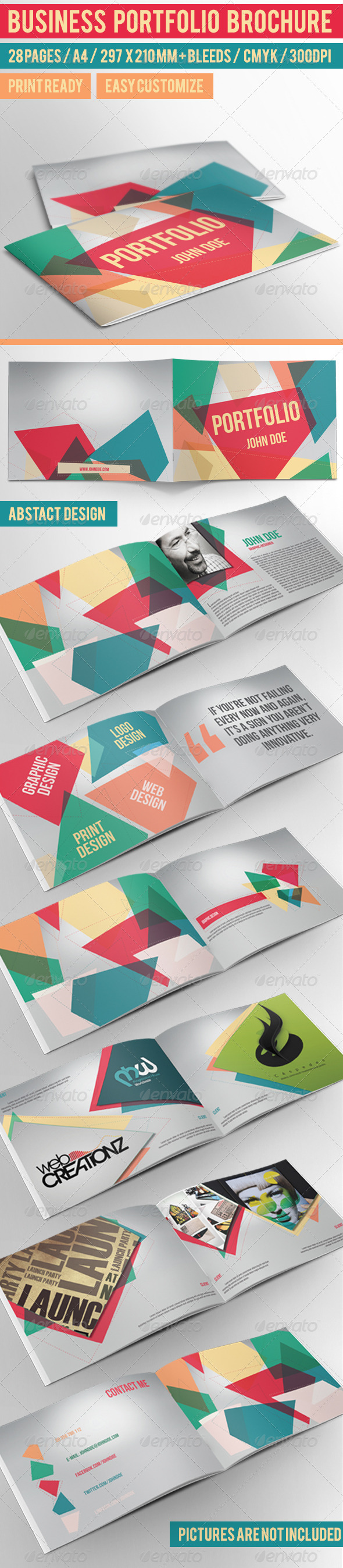 GraphicRiver Business Portfolio Brochure 4555832