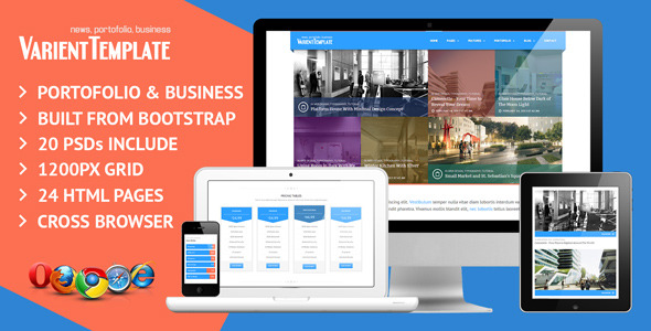 Varient Responsive Multi Purpose Template