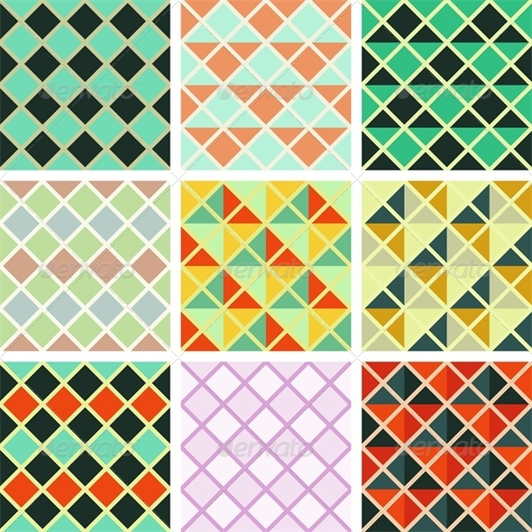 GraphicRiver Geometric Patterns 4556273