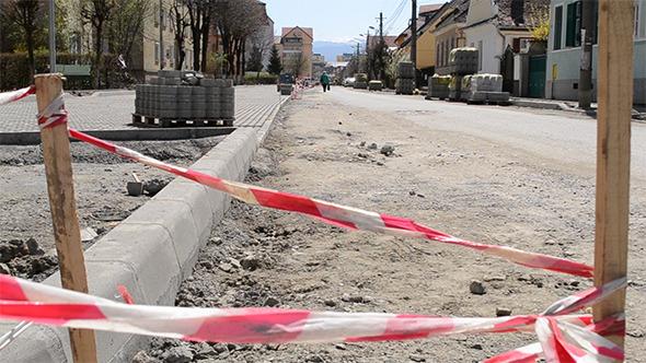 Street Construction Site Pending