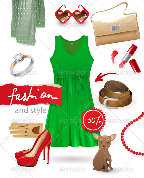 GraphicRiver Fashion Look 4556515